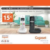 Offre de Remboursement Gigaset : Jusqu'à 15€ Remboursés sur Téléphone sans Fil