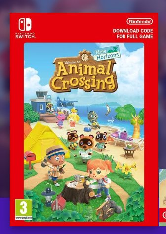 45€ le jeu Animal Crossing New Horizon pour Switch