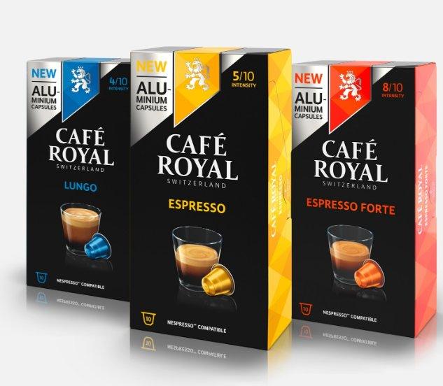 Café Royal : 15€ de réduction pour 50 d'achat et livraison gratuite