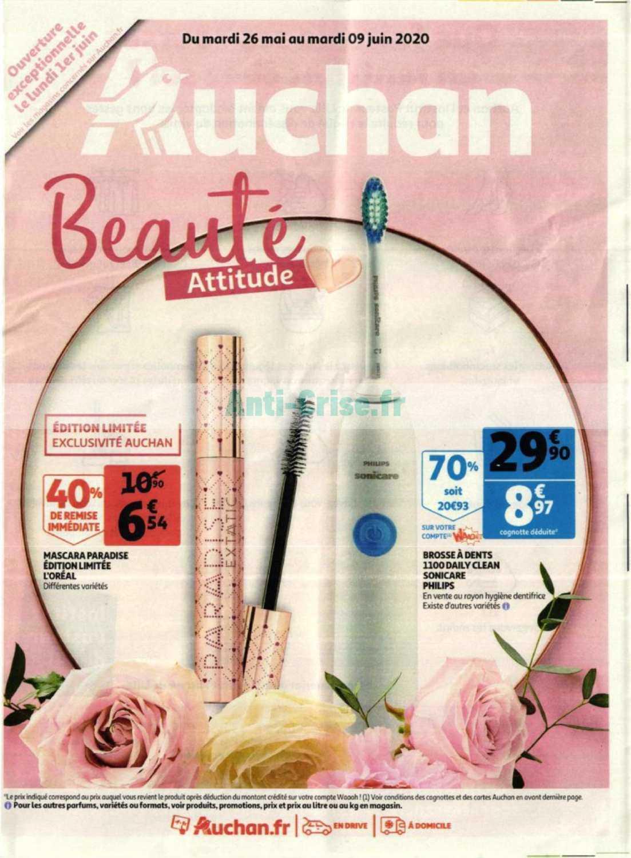 Catalogue Auchan du 26 mai au 09 juin 2020 (Beauté)