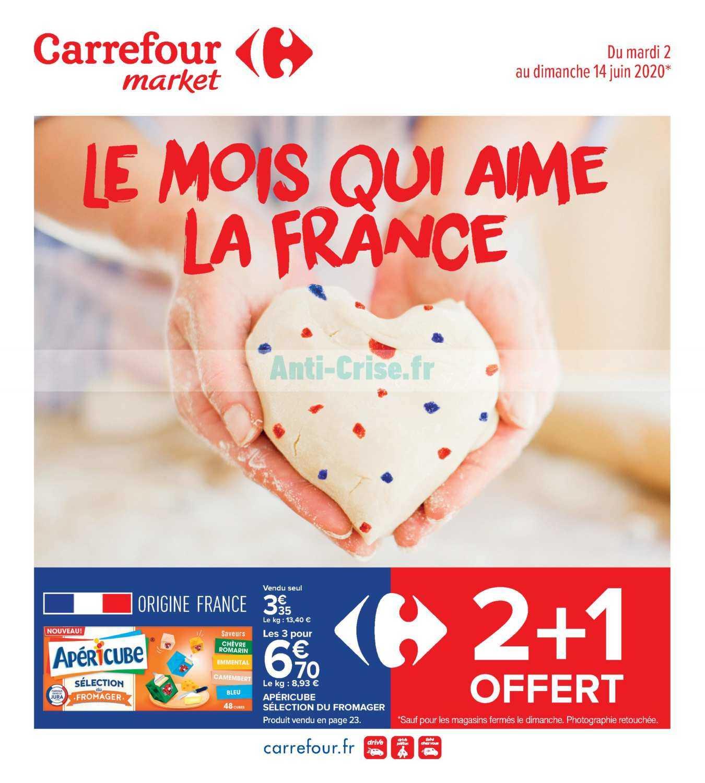 Catalogue Carrefour Market du 02 au 14 juin 2020