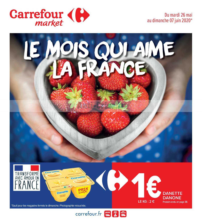Catalogue Carrefour Market du 26 mai au 07 juin 2020