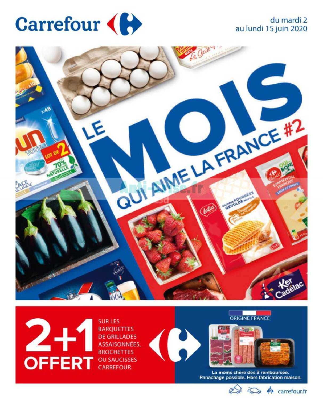 Catalogue Carrefour du 02 au 15 juin 2020
