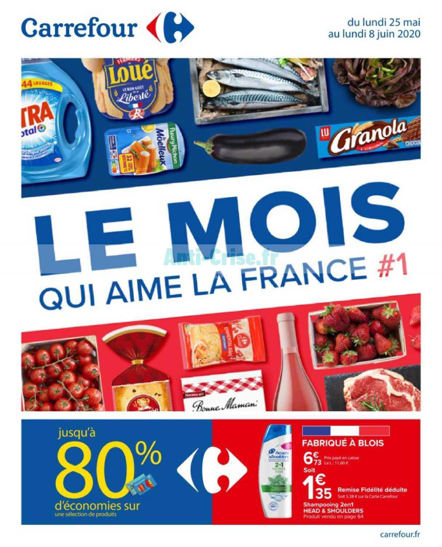 Catalogue Carrefour du 25 mai au 08 juin 2020