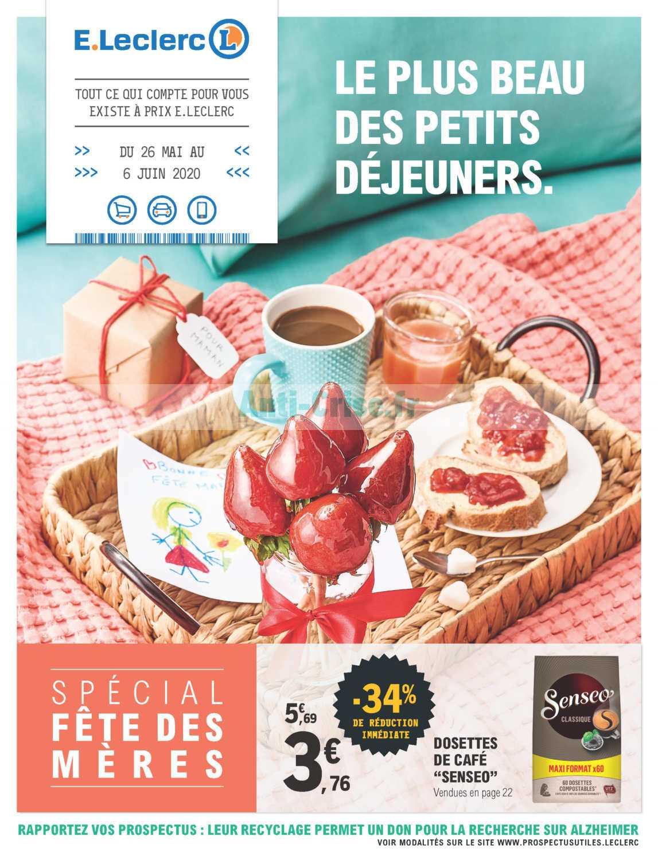 Catalogue Leclerc du 26 mai au 06 juin 2020