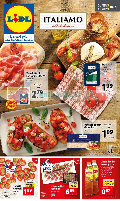 Catalogue Lidl du 03 au 09 juin 2020