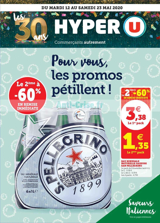 Catalogue Hyper U Du 12 Au 23 Mai 2020 Catalogues Promos Bons Plans Economisez Anti Crise Fr