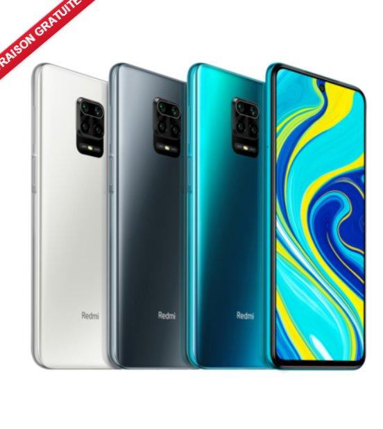 179€ le smartphone XIAOMI REDMI NOTE 9S 4Go-64Go