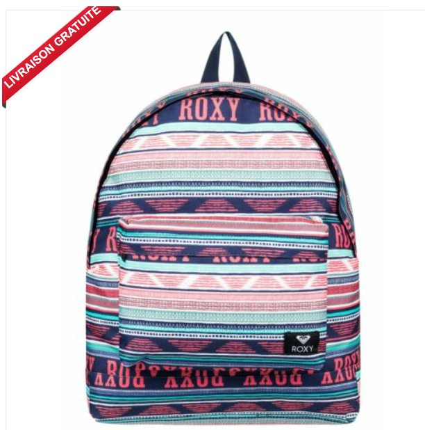 15,6€ le sac à dos scolaire Roxy Be Young 24 litres