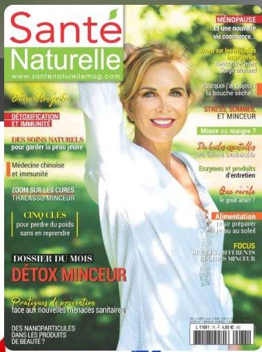 18€ l'abonnement à la revue Santé Naturelle au lieu de 48