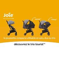 Test de Produit ConsoBaby : Poussette Trio TOURIST JOIE
