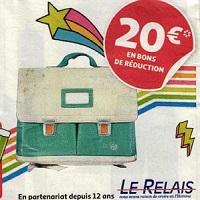 Auchan : 20€ en Bons de Réduction en Recyclant votre Ancien Cartable