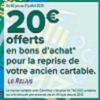 Carrefour : 20€ en Bons d'Achat en Ramenant votre Ancien Cartable