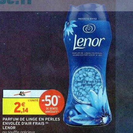 Parfum de Linge Lenor chez Intermarché (30/06 – 12/07)