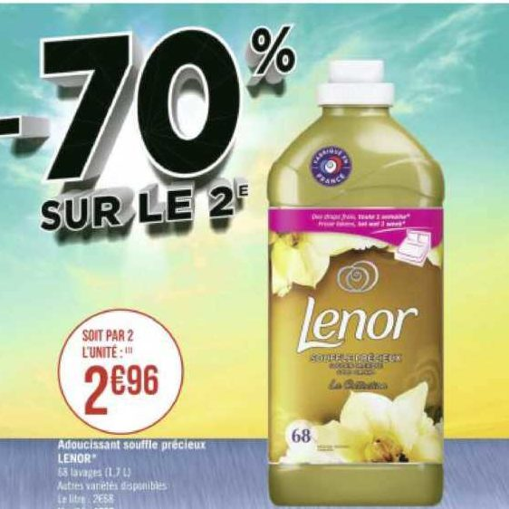 Assouplissant Lenor chez Géant Casino (22/06 – 05/07)