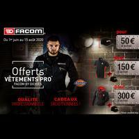 Bon Plan Facom : Accessoires Offert dès 50€ d'Achat
