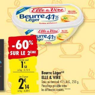 Beurre Elle & Vire Carrefour 30/06/2020 – 06/07/2020