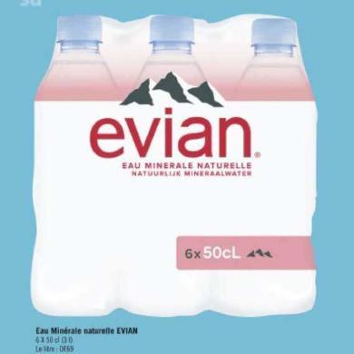 Eau Evian Géant Casino 29/06/2020 – 12/07/2020
