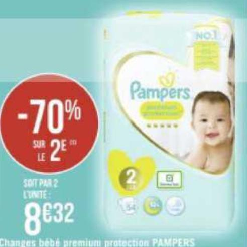 Couches Pampers Géant Casino 29/06/2020 – 12/07/2020