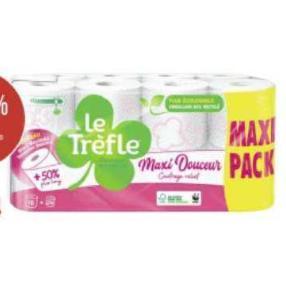 Papier Toilette le Trefle Géant Casino 29/06/2020 – 12/07/2020