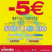 Offre de Remboursement Vileda : 5€ Remboursés sur la Gamme SuperMocio