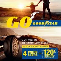 Offre de Remboursement Good Year et Dunlop : Jusqu'à 120€ sur les Pneus