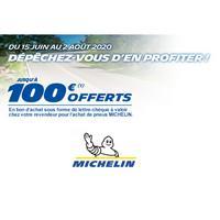 Offre de Remboursement Michelin : Jusqu'à 100€ Remboursés sur les Pneus en Bon d'Achat