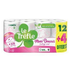 Papier Toilette Le Trèfle Leclerc 07/07 au 18/07