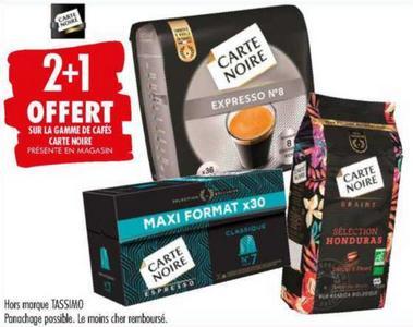 Café Carte Noire chez Carrefour (07/07 – 20/07)