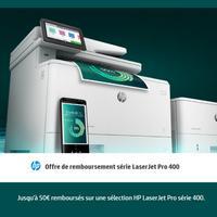Offre de Remboursement hp : Jusqu'à 50€ Remboursés sur Imprimantes LaserJet Pro série 400