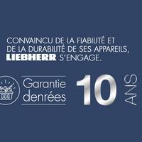 Bon Plan Liebherr : 1 Congélateur Acheté = Denrées garanties 10 ans