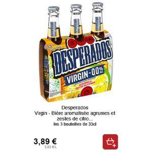 Biere Desperados Virgin 0 0 Chez Intermarche 20 06 21 06 Catalogues Promos Bons Plans Economisez Anti Crise Fr