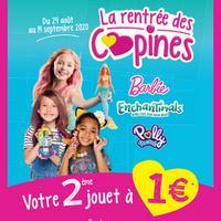 Offre de Remboursement Mattel : Votre Deuxième Jouet à 1€