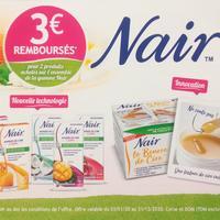 Offre de Remboursement Nair : 3€ Remboursés pour 2 Produits Achetés