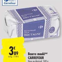 Beurre Carrefour Carrefour 23/06/2020 – 06/07/2020