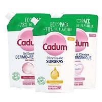 Test de Produit Cadum : Douches Eco Pack