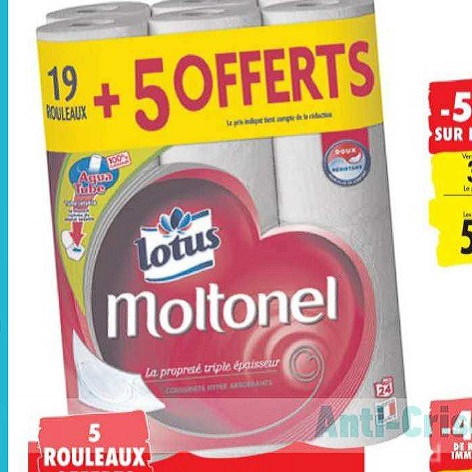 Papier Toilette Moltonel Carrefour du 23/06/2020 au 06/07/2020