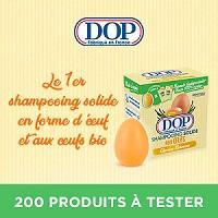 Test de Produit Beauté Test : Shampoing Solide Dop