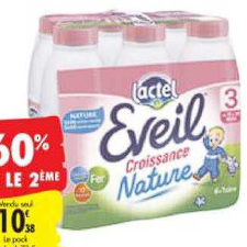 Lait Infantile Lactel Carrefour du 23/06/2020 au 06/07/2020