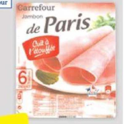 Jambon Carrefour Carrefour du 23/06/2020 au 06/07/2020