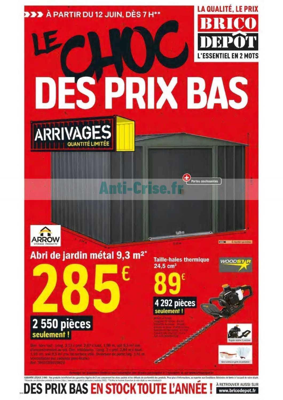 Catalogue Brico Depot Du 12 Juin Au 02 Juillet 2020 Catalogues Promos Bons Plans Economisez Anti Crise Fr