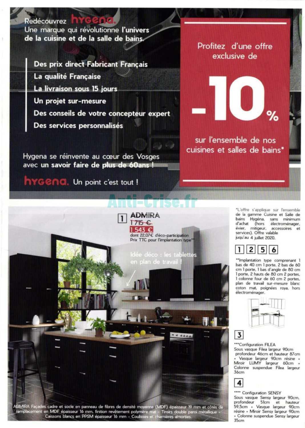 Hygena Le Nouveau Catalogue Du 25 Juin Au 04 Juillet 2020 Est Disponible Ne Ratez Pas Les Promos Du Catalogue