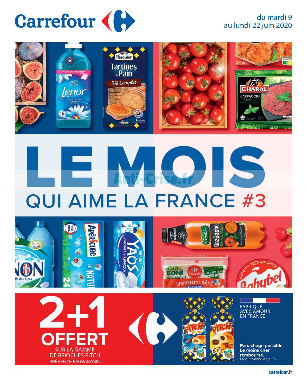 Catalogue Carrefour du 09 au 22 juin 2020