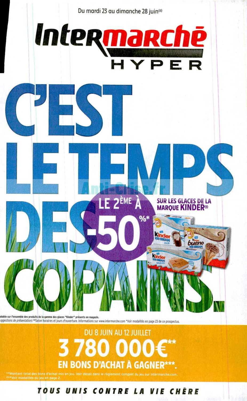 Catalogue Intermarche Du 23 Au 28 Juin 2020 Version Hyper Catalogues Promos Bons Plans Economisez Anti Crise Fr