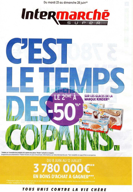 Catalogue Intermarche Du 23 Au 28 Juin 2020 Version Super Catalogues Promos Bons Plans Economisez Anti Crise Fr