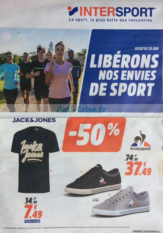 Catalogue Intersport Du 08 Au 29 Juin 2020 Catalogues Promos Bons Plans Economisez Anti Crise Fr