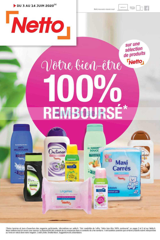 Catalogue Netto du 03 au 14 juin 2020 (100% Remboursé)