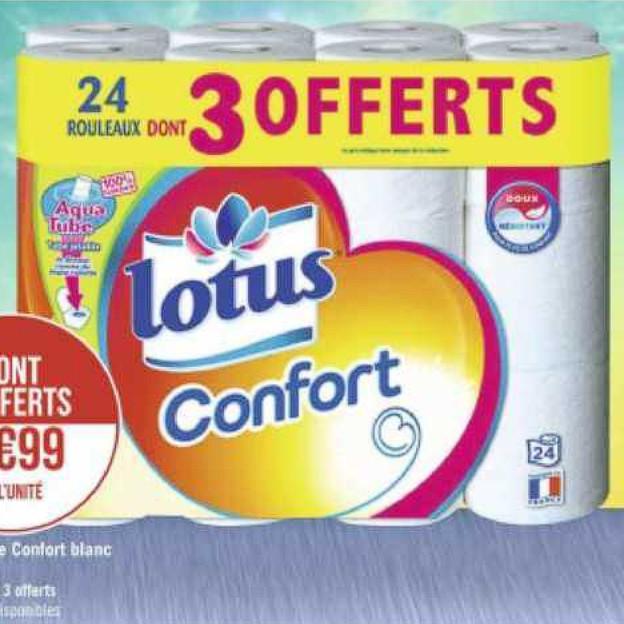 Papier Toilette Lotus Géant Casino 22/06/2020 – 05/07/2020