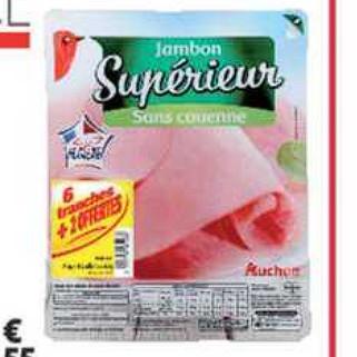 Jambon Auchan Supermarché (08/07/2020 – 14/07/2020)
