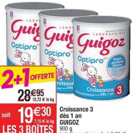 Lait Infantile Guigoz Cora (07/07/2020 – 13/07/2020)